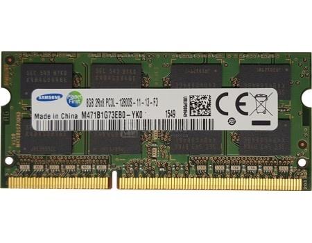 Модуль памяти Samsung SO-DIMM DDR3L 8192Mb PC3-12800 1600Mhz M471B1G73EB0-YK0