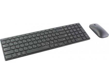 Комплект беспроводной клавиатура+мышь Microsoft Designer, Bluetooth, Черный 7N9-00018