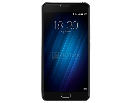 Смартфон Meizu U10 32Gb Black (Android 6.0 (Marshmallow)/MT6750 1500MHz/5.0