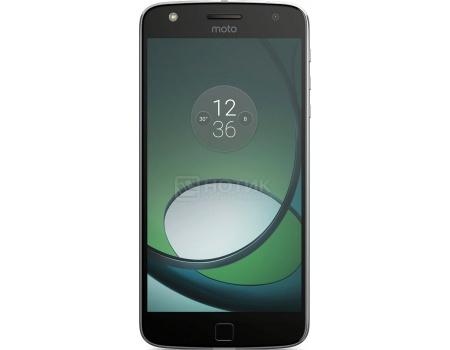 Смартфон Moto Z Play 32Gb Black (Android 6.0 (Marshmallow)/MSM8953 2000MHz/5.5 1920x1080/3072Mb/32Gb/4G LTE  ) [SM4425AE7U1] смартфон moto z 32gb white android 6 0 marshmallow msm8996 2150mhz 5 5 2560х1440 3072mb 32gb 4g lte 3g edge hsdpa hspa [sm4389ad1u1]
