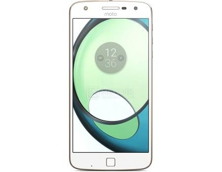Смартфон Moto Z Play 32Gb White (Android 6.0 (Marshmallow)/MSM8953 2000MHz/5.5 (1920x1080)/3072Mb/32Gb/4G LTE 3G (EDGE, HSDPA, HSPA+)) [SM4425AD1U1]