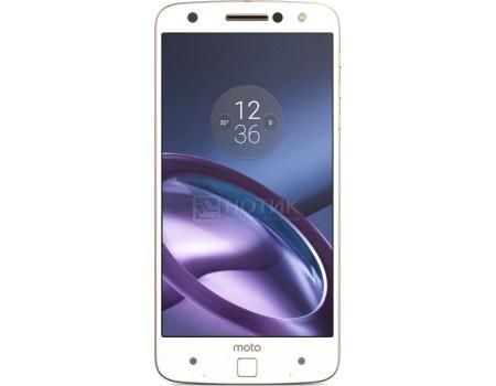 Смартфон Motorola Moto Z 32Gb White (Android 6.0 (Marshmallow)/MSM8996 2150MHz/5.5* 2560х1440/3072Mb/32Gb/4G LTE ) [SM4389AD1U1], арт: 48780 - Motorola