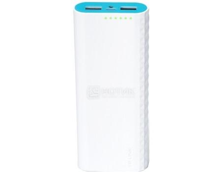 Внешний аккумулятор TP-Link TL-PB15600 , 15600 mAh, 5V, 2.4A , 2xUSB, Белый TL-PB15600 от Нотик