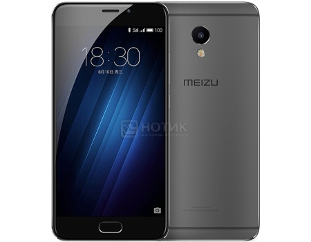 Смартфон Meizu M3E 32 Gray (Android 6.0 (Marshmallow)/MT6755 1800MHz/5.5