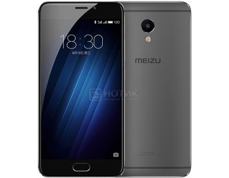 Смартфон Meizu M3E 32 Gray (Android 6.0 (Marshmallow)/MT6755 1800MHz/5.5 (1920x1080)/3072Mb/32Gb/4G LTE 3G (EDGE, HSDPA, HSPA+)) [A680H-32-GB]