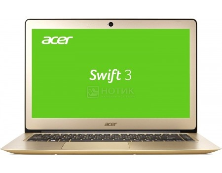 Ноутбук Acer Aspire Swift SF314-51-32Y2 (14.0 IPS (LED)/ Core i3 6100U 2300MHz/ 8192Mb/ SSD 128Gb/ Intel HD Graphics 520 64Mb) MS Windows 10 Home (64-bit) [NX.GKKER.011]