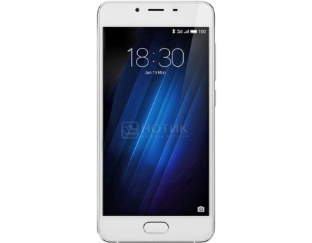 Смартфон Meizu U10 32Gb Silver (Android 6.0 (Marshmallow)/MT6750 1500MHz/5.0 1280x720/3072Mb/32Gb/4G LTE  ) [U680H-32-S] смартфон meizu u20 32gb silver android 6 0 marshmallow mt6755 1800mhz 5 5 1920x1080 3072mb 32gb 4g lte 3g edge hsdpa hsupa [u685h 32 sw]