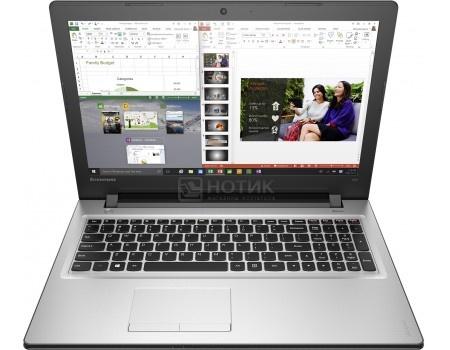 Ноутбук Lenovo IdeaPad 300-15 (15.6 LED/ Pentium Quad Core N3710 1600MHz/ 4096Mb/ HDD 500Gb/ NVIDIA GeForce GT 920M 1024Mb) MS Windows 10 Home (64-bit) [80M300NNRK]