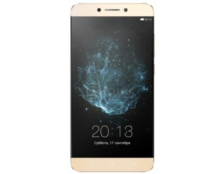 Смартфон LeEco Le Max2 X820 Gold 64Gb LTE (Android 6.0 (Marshmallow)/MSM8996 2150MHz/5.7 (2560х1440)/6144Mb/64Gb/4G LTE 3G (EDGE, HSDPA, HSPA+)) [Le Max2 X820]