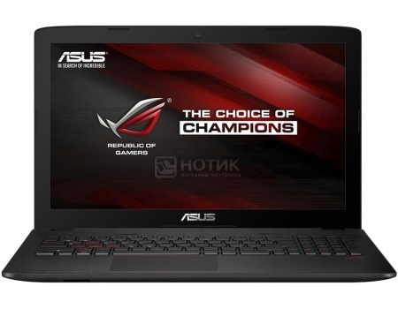 Ноутбук ASUS ROG GL552VW-CN866T (15.6 IPS (LED)/ Core i5 6300HQ 2300MHz/ 8192Mb/ HDD 1000Gb/ NVIDIA GeForce® GTX 960M 2048Mb) MS Windows 10 Home (64-bit) [90NB09I1-M10940]