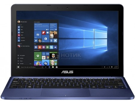 Ноутбук ASUS E200HA-FD0004TS (11.6 LED/ Atom Quad-Core Z8300 1440MHz/ 2048Mb/ SSD 32Gb/ Intel HD Graphics 64Mb) MS Windows 10 Home (64-bit) [90NL0072-M00170]