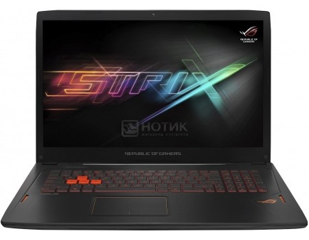 Ноутбук ASUS GL702VM-GC066T (17.3 IPS (LED)/ Core i7 6700HQ 2600MHz/ 24576Mb/ HDD+SSD 1000Gb/ NVIDIA GeForce® GTX 1060 6144Mb) MS Windows 10 Home (64-bit) [90NB0DQ1-M00910]