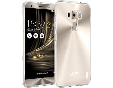 Чехол-накладка Asus Clear Case для Zenfone 3 Deluxe ZS570KL, Пластик, Прозрачный 90AC01S0-BCS001