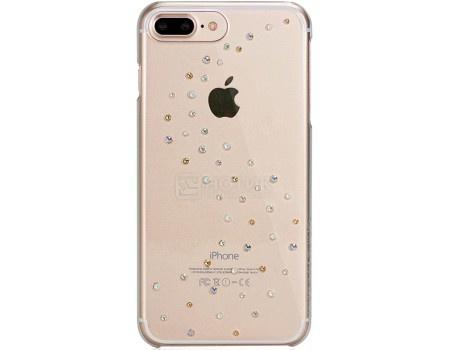 Чехол-накладка Bling My Thing, Milky Way Angel Tears для iPhone 7 с кристаллами Swarovski, ip7-mw-cl-agm, Поликарбонат, Прозрачный