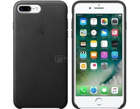 Чехол-накладка Apple Leather Case Black для iPhone 7 Plus MMYJ2ZM/A, Кожа, Черный