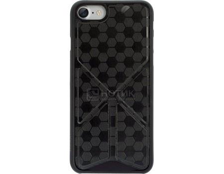 Чехол-накладка для iPhone 7 Plus Ozaki 0.4 Totem Versatile OC745BK, Полиуретан, Черный