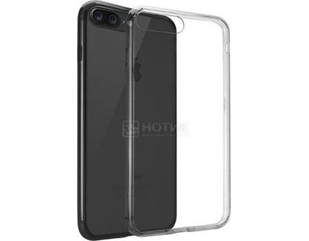 Чехол-накладка для iPhone 7 Plus Ozaki O!coat Crystal+ OC747BK, Пластик, Прозрачный/Черный