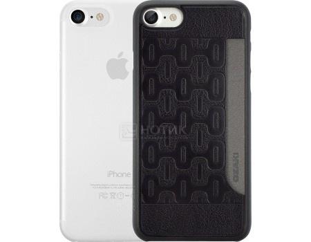 Набор из двух чехлов Ozaki Jelly и Ozaki Pocket для iPhone 7 OC722KC Пластик, Прозрачный/Черный