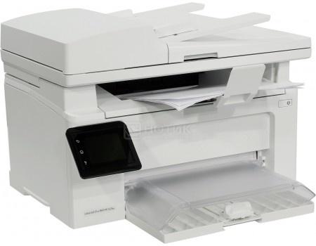 Фотография товара мФУ лазерное монохромное HP LaserJet Pro M132fw, A4, ADF, 22стр/мин, 256Мб, факс, USB, LAN, Wi-Fi, Белый G3Q65A (48989)