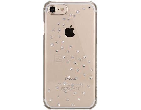 Чехол-накладка Bling My Thing, Milky Way Pure Brilliance для iPhone 7 с кристаллами Swarovski, ip7-mw-cl-cry, Поликарбонат, Прозрачный от Нотик