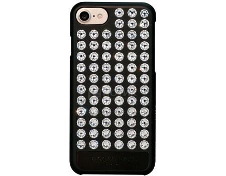 Чехол-накладка Bling My Thing, Extravaganza Pure Crystal для iPhone 7 с кристаллами Swarovski, ip7-ev-bkm-cry, Пластик, Черный