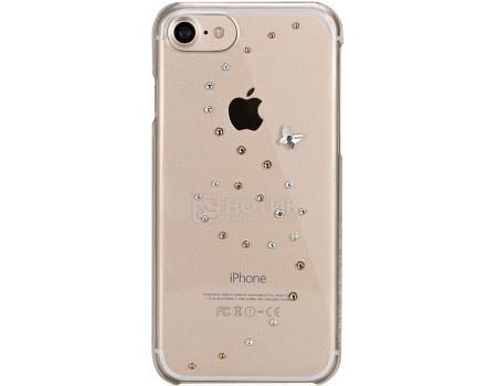 Чехол-накладка Bling My Thing, Papillon Angel Tears для iPhone 7 с кристаллами Swarovski, ip7-pp-cl-agm, Пластик, Прозрачный
