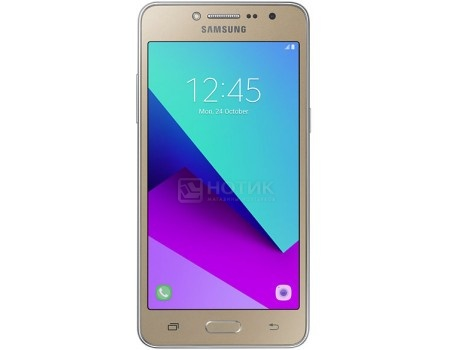 Смартфон Samsung Galaxy J2 Prime SM-G532F DS Gold (Android 6.0 (Marshmallow)/MT6737T 1400MHz/5.0