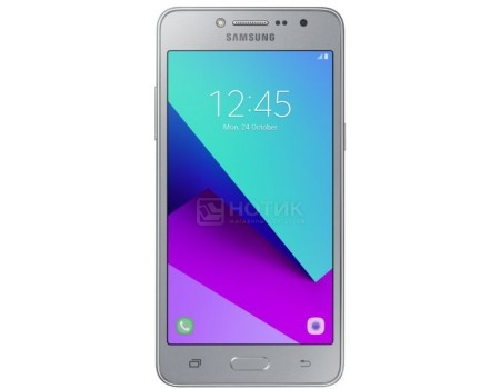 "Смартфон Samsung Galaxy J2 Prime SM-G532F DS Silver (Android 6.0 (Marshmallow)/MT6737T 1400MHz/5.0"" (960x540)/1536Mb/8Gb/4G LTE 3G"