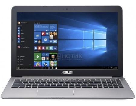 Ноутбук ASUS K501UQ-DM085T (15.6 LED/ Core i5 6200U 2300MHz/ 4096Mb/ HDD 500Gb/ NVIDIA GeForce GT 940MX 2048Mb) MS Windows 10 Home (64-bit) [90NB0BP2-M01370]