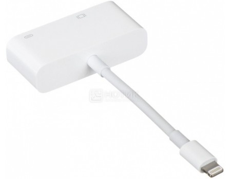 Адаптер Apple Lightning to VGA Adapter, Белый, MD825ZM/A, арт: 49067 - Apple