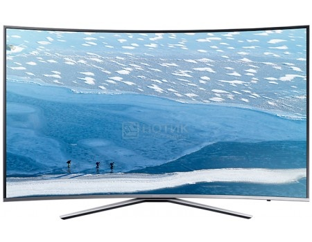 Телевизор Samsung 43 UE43KU6500U UHD, Smart TV, CMR 1600, Серебристый