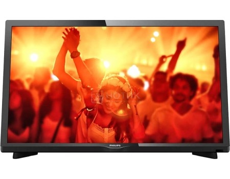 Телевизор Philips 22PFT4031/60, LED, Full HD, PMR 100, Черный