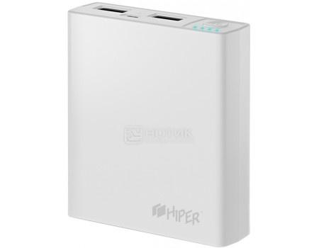 Внешний аккумулятор HIPER PowerBank RP7500 White, 2.1A/1A, 2xUSB, 7500 мАч, Белый