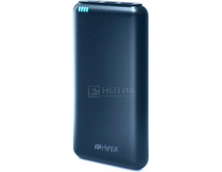 Внешний аккумулятор HIPER PowerBank SP20000 Dark Blue, 5V, 2.1A/1A, 2xUSB, 20000 мАч, Синий