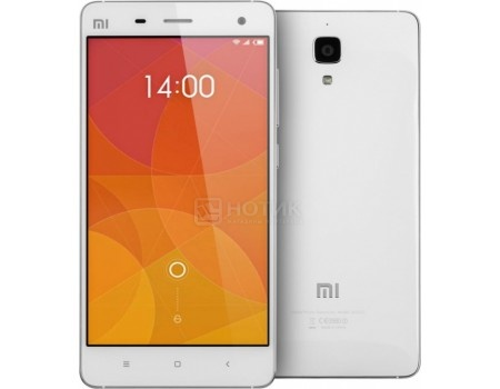 "Смартфон Xiaomi Mi 4 64Gb White (Android 4.4/MSM8974AC 2500MHz/5.0"" (1280x720)/3072Mb/64Gb/ 3G (EDGE, HSDPA, HSPA+)) [Mi 4 64Gb White] от Нотик"