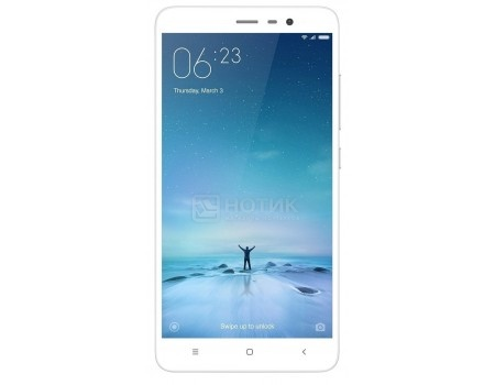 "Смартфон Xiaomi Redmi Note 3 Pro (Android 5.1/MSM8956 1800MHz/5.5"" 1920x1080/2048Mb/16Gb/4G LTE ) [6954176857644] от Нотик"