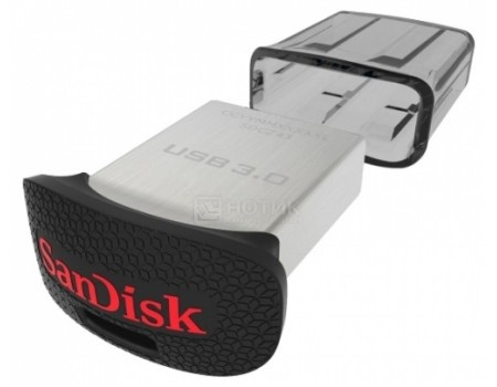 Фотография товара флешка Sandisk 128Gb Ultra Fit SDCZ43-128G-GAM46, USB3.0, Черный (49160)