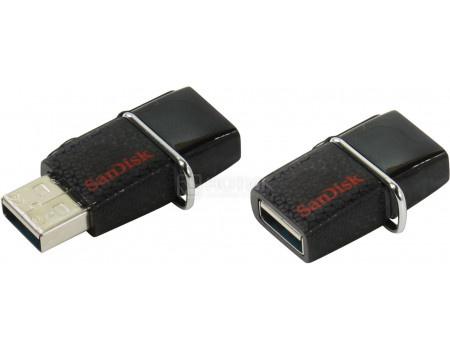 Фотография товара флешка SanDisk 32Gb Ultra Dual SDDD2-032G-GAM46 USB3.0/microUSB, Черный (49163)