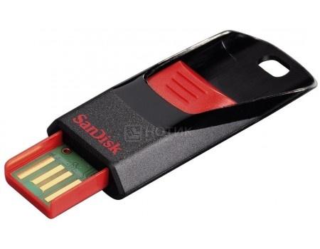 Флешка Sandisk 64Gb Cruzer Edge SDCZ51-064G-B35 USB2.0, Черный/Красный флешка usb sandisk cruzer edge 32гб usb2 0 красный и черный [sdcz51 032g b35]