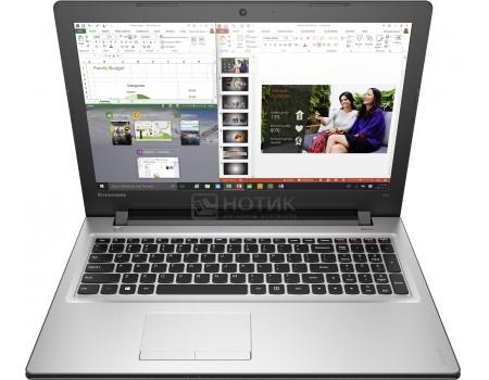 Ноутбук Lenovo IdeaPad 300-15 (15.6 LED/ Core i3 6100U 2300MHz/ 4096Mb/ HDD 500Gb/ AMD Radeon R5 M430 2048Mb) MS Windows 10 Home (64-bit) [80Q701J7RK]