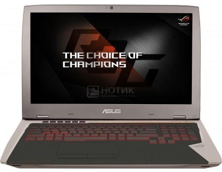 Ноутбук ASUS G701VI-BA030T (17.3 IPS (LED)/ Core i7 6700HQ 2600MHz/ 32768Mb/ SSD 1000Gb/ NVIDIA GeForce® GTX 1080 8192Mb) MS Windows 10 Home (64-bit) [90NB0E61-M00580]ASUS<br>17.3 Intel Core i7 6700HQ 2600 МГц 32768 Мб DDR4-2133МГц SSD 1000 Гб MS Windows 10 Home (64-bit), Серебристый<br>