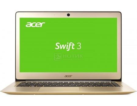 Ноутбук Acer Aspire Swift SF314-51-324Q (14.0 IPS (LED)/ Core i3 6100U 2300MHz/ 8192Mb/ SSD 128Gb/ Intel HD Graphics 520 64Mb) Linux OS [NX.GKKER.012]