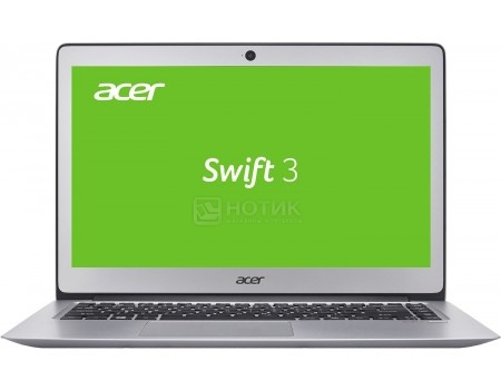 Ноутбук Acer Aspire Swift SF314-51-35PW (14.0 IPS (LED)/ Core i3 6100U 2300MHz/ 8192Mb/ SSD 128Gb/ Intel HD Graphics 520 64Mb) Linux OS [NX.GKBER.011]