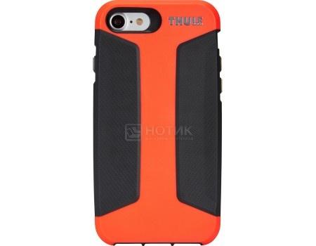 Чехол-накладка Thule Atmos X3 для iPhone 7 TAIE-3126 FIERY CORAL/DARK SHADOW, Поликарбонат, Черный/Красный