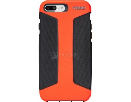 Чехол-накладка Thule Atmos X3 для iPhone 7 Plus TAIE-3127 FIERY CORAL/DARK SHADOW, Поликарбонат, Чер