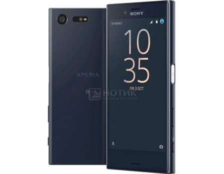 Смартфон Sony Xperia X Compact Black (Android 6.0 (Marshmallow)/MSM8956 1800MHz/4.6
