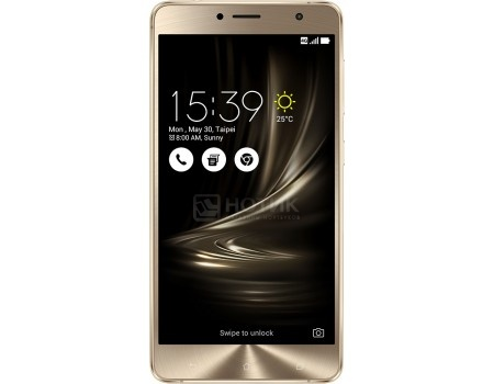 Смартфон ASUS Zenfone 3 Deluxe ZS550KL (Android 6.0 (Marshmallow)/MSM8953 2000MHz/5.5 (1920x1080)/4096Mb/64Gb/4G LTE 3G (EDGE, HSDPA, HSPA+)) [90AZ01F1-M00090]