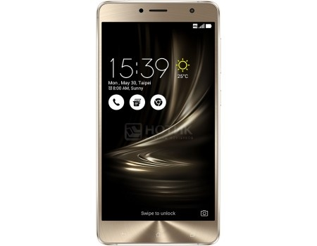 Смартфон ASUS Zenfone 3 Deluxe ZS550KL (Android 6.0 (Marshmallow)/MSM8953 2000MHz/5.5 (1920x1080)/4096Mb/64Gb/4G LTE 3G (EDGE, HSDPA, HSPA+)) [90AZ01F4-M00100]