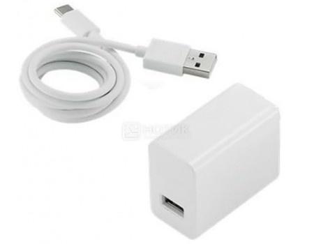 Фотография товара зарядное устройство ASUS APWU001 для планшетов и сматрфонов 18W, USB Type C, Белый 90AC0210-BPW002 (49247)