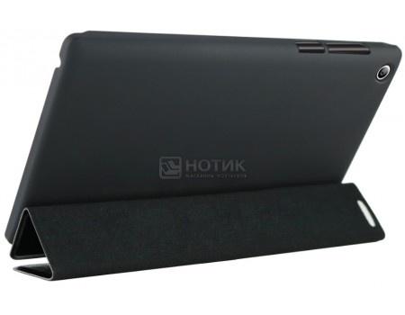 Фотография товара чехол-подставка IT Baggage для планшета Lenovo TAB 3 TB3-730X, Искусственная кожа, Черный, ITLN3A705-1 (49258)
